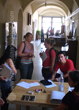 Students inside our school