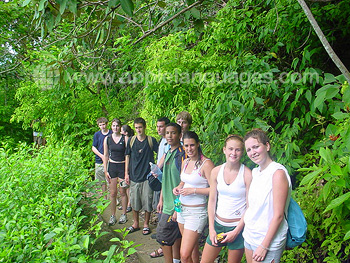 Excursion to rain forest