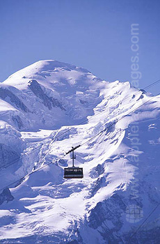 Cable car to the slopes