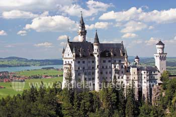 The amazing Castle Neuschwanstein