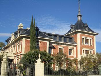 The school building