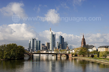 Frankfurt from the river