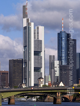 Financial district, Frankfurt