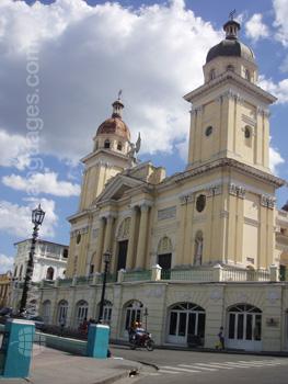 A church in Santiago