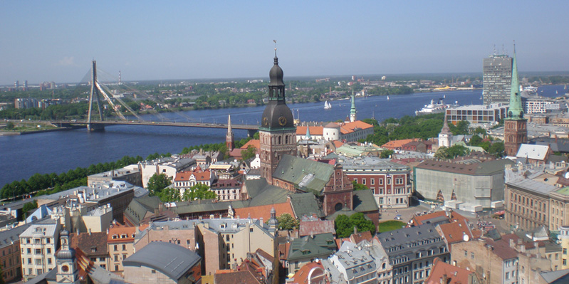 The magnificent city of Riga