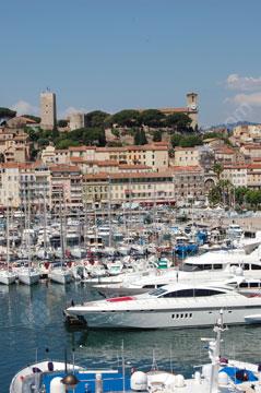 The marina, Cannes