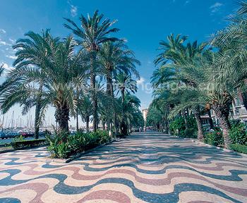 The promenade, Alicante