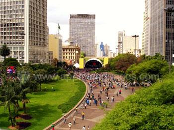 Music festival in São Paulo