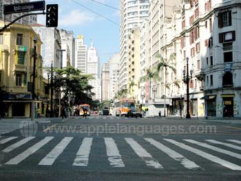 The streets of São Paulo