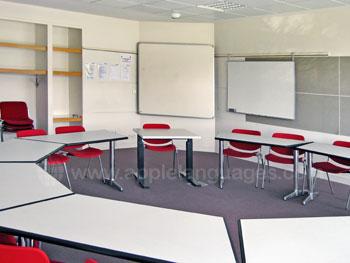 Bright, spacious classrooms