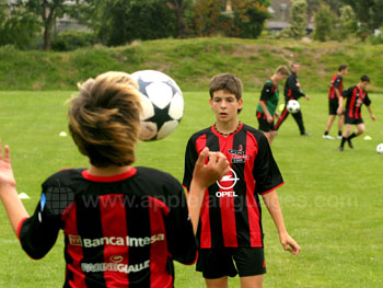 Football coaching at our school