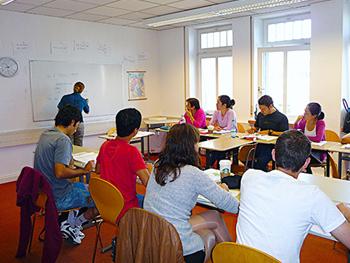 German class in Stuttgart