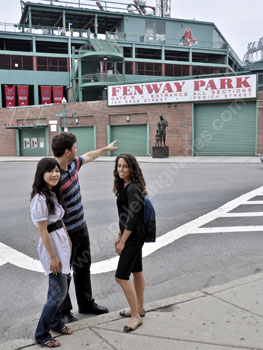 Excursion to Fenway Park