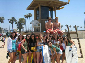 Students with Lifeguards