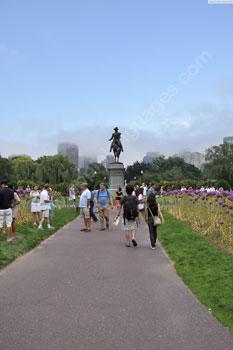 Students on Boston Common