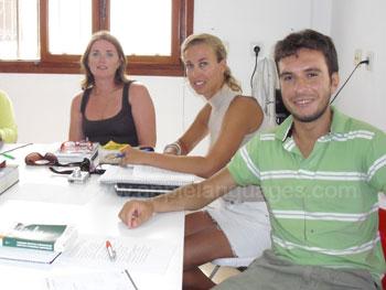 Spanish class in Tarifa