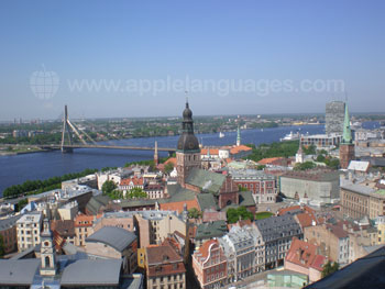View over Riga