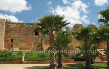 You are surrounded by history in Rabat