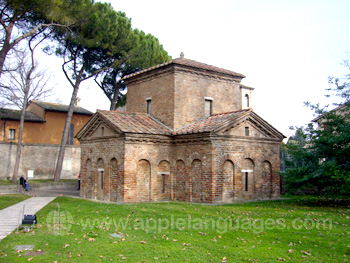 Mausoleum of Galla Placidia in Ravenna