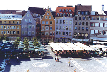 Market in the main square, Augsburg