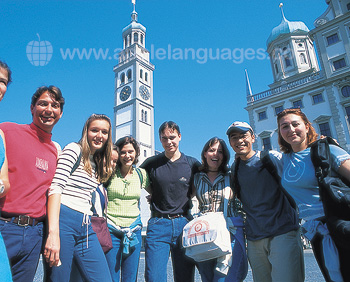 Our students in Augsburg