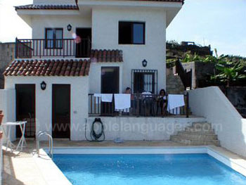 Country cottage (finca) accommodation with pool