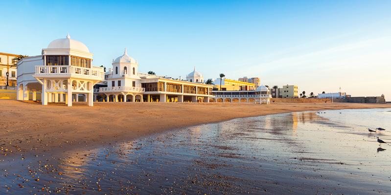 La Caleta, beach