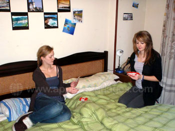 Students in residence accommodation