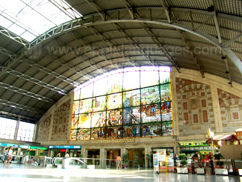 The magnificent Bilbao station