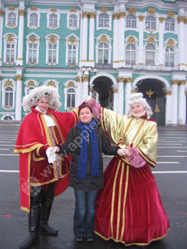 Student with more historical Russian characters