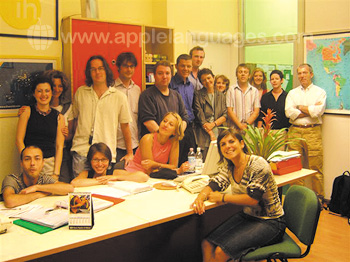 Staff at our school in Milan