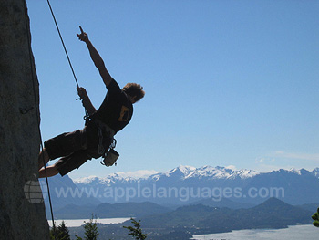 Bariloche is great for climbing!