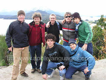 Students on an excursion