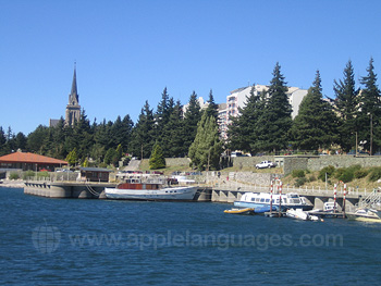 The lakeside, Bariloche