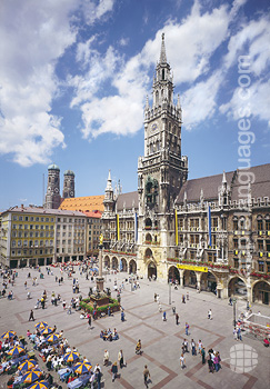 The historic centre, Munich