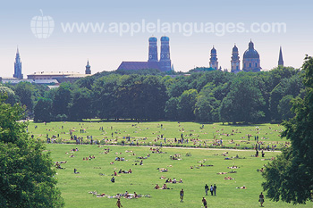 Munich in the summer