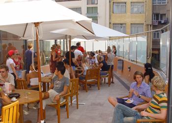 Barcelona terrace - cafeteria