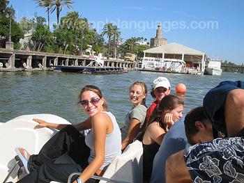 Riverboat trip