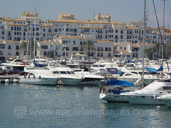 The marina in Marbella