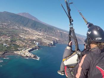 Spanish & Paragliding