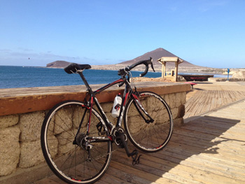 Cycling the island