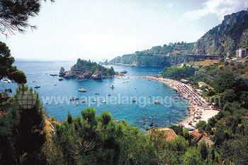 View over Taormina