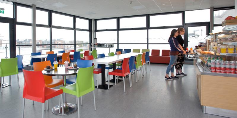 School's rooftop restaurant