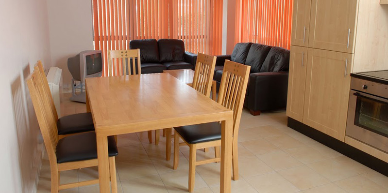 University Hall Living room