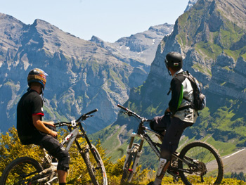 French & mountain biking