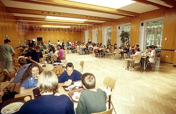 Camp cafeteria