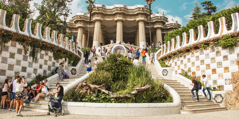 Visiting Parc Guell