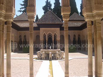 Visit to Alhambra, Granada