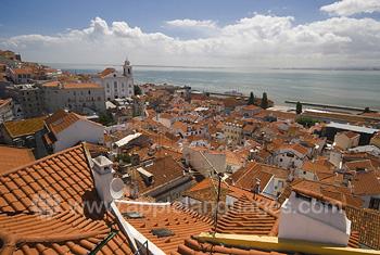 Panorama over Lisbon