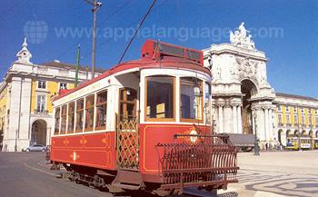 Typical tram, Lisbon